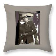 Gary Cooper Morocco 1930-2015 Throw Pillow
