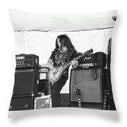 Gary Rossington Saturday Night Special Throw Pillow