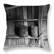 Gas Cans Throw Pillow