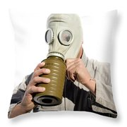 Gas Gasp Throw Pillow by Jorgo Photography - Wall Art Gallery