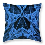Gash Face Throw Pillow