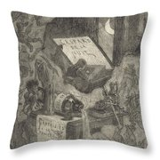 Gaspard De La Nuit Throw Pillow