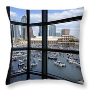 Gasparilla Invasion Throw Pillow