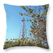 Gasparilla Lighthouse Throw Pillow