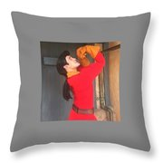 Gaston #1 Throw Pillow