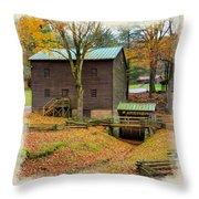 Gastons Mill 2 Throw Pillow