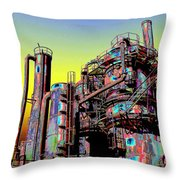 Gasworks Park 1 Throw Pillow