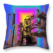 Gasworks Park 2 Throw Pillow