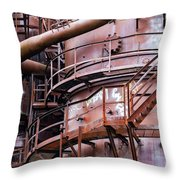 Gasworks Park Throw Pillow