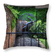 Gate And Arch Throw Pillow
