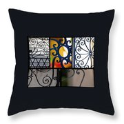 Gate Designs Throw Pillow