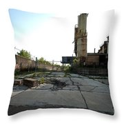 Gate Is Locked Throw Pillow