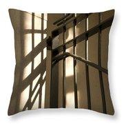 Gate Shadow Throw Pillow
