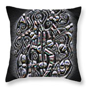 Gate To Mystery Throw Pillow