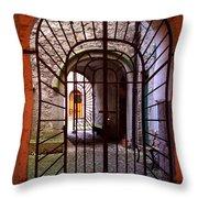 Gated Passage Throw Pillow