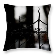 Gated Woods Throw Pillow