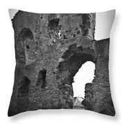 Gatehouse At Nenagh Castle Ireland Throw Pillow