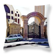 Gates Of Archangel Michael Cathedral Throw Pillow
