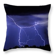 Gates To Heaven Throw Pillow