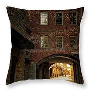 Gateway At The Rotermann Area Throw Pillow