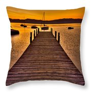 Gateway Throw Pillow by Scott Mahon