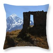 Gateway To The Gods 2 Throw Pillow by James Brunker