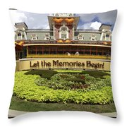 Gateway To The Magic Panorama Throw Pillow