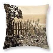 Gateway To The Mediterranean Throw Pillow
