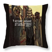Hallowed Gathering Quote Throw Pillow