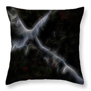 Gathering Of Angels Throw Pillow