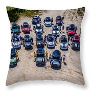 Gathering Of The R60s Throw Pillow