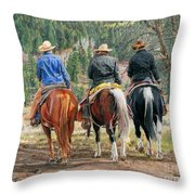 Gathering Pine Ridge Throw Pillow