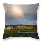 Gathering Storm Throw Pillow