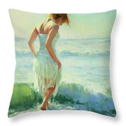 Gathering Thoughts Throw Pillow