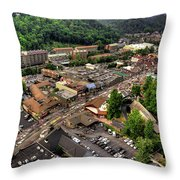 Gatlinburg Tennessee Throw Pillow
