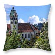 Gattnauer Parish Church Throw Pillow