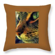 Gatto Throw Pillow