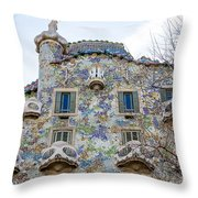 Gaudi Architecture  Throw Pillow