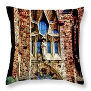 Gaudi Barcelona Throw Pillow