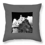 Gaudi House Throw Pillow