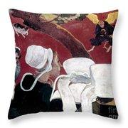 Gaugin: Vision, 1888 Throw Pillow