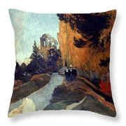 Gauguin: Alyscamps, 1888 Throw Pillow