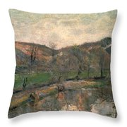 Gauguin: Brittany, 1888 Throw Pillow