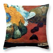 Gauguin: Fete Gloanec, 1888 Throw Pillow