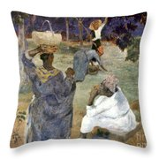 Gauguin: Martinique, 1887 Throw Pillow