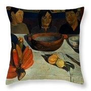 Gauguin: Meal, 1891 Throw Pillow