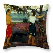 Gauguin: Pandanus, 1891 Throw Pillow by Granger