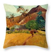 Gauguin: Tahiti, 1891 Throw Pillow