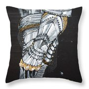 Gaunlet Throw Pillow