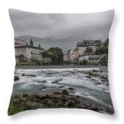 Gave De Pau Lourdes Throw Pillow